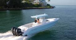 Donzi 38 ZFX быстроходная, мореходная лодка