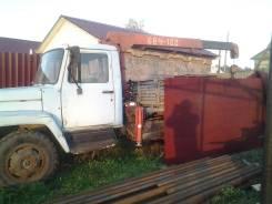 Продам ГАЗ 3307 кран борт+таун айс 89г.