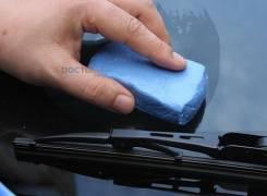 Чудо-глина 3М для очистки кузова от битума, насекомых и т. п.