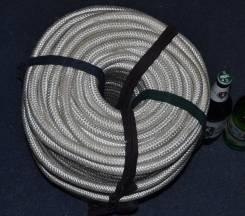 Шнур плетёный капрон толщина 1,8 см 100м