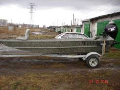 Лодка weld craft  с мотором
