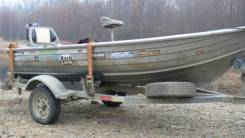 Лодка алюминиевая  Savage
