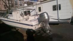 Сирочно-Продам супер рыбак . отл катер с 4 тактным мотором хонда 90 л.