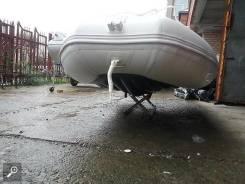 """Заводские лодки """"Одиссей"""" 420 с полом низкого давления"""