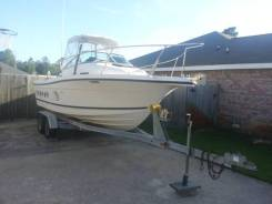 2001 22' Bayliner Trophy Cuddy  150HP Mercury trailer