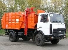 МКМ-3403 на шасси МАЗ 5340В2-485-000 Мусоровоз Евро-4