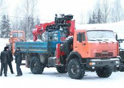 Услуги бурильно крановой машины в Москве и мо