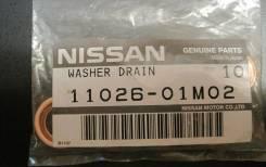 Прокладка сливной пробки поддона картера Nissan, Infiniti в наличии