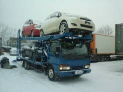 Отправка автовозами автомобилей, катеров в Хабаровск, Благовещенск.