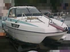 Надежный катер для рыбалки и отдыха тримаран Nissan Suncat 1995 года