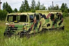 Дизельный вездеход амфибия BV-206 Лось