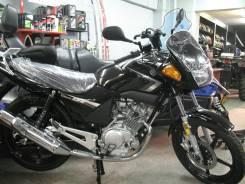 Мотоцикл Yamaha YBR125, новый, птс 2014, черный, Мото-тех, 2017