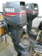 Yamaha. 30,00л.с., 2-тактный, бензиновый, нога S (381 мм), 2003 год