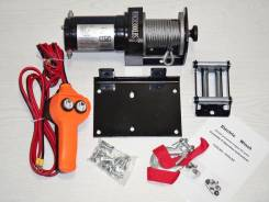 Лебедка ATV Electric Winch 12v, 2000LBS. (907кг)