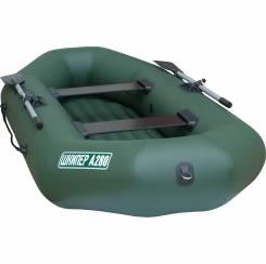 Лодка Шкипер А280 (надувное дно)