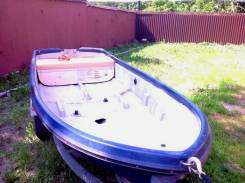 Пластиковая лодка ямаха