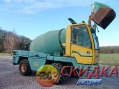 Самоходный бетонозавод-миксер Carmix, 5.5 m3