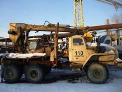 Манипулятор для погрузки леса СФ65 на шасси Урал