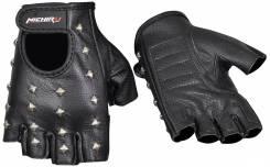 Перчатки кожаные без пальцев.