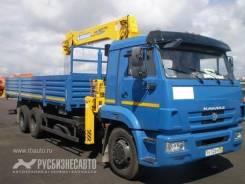 КамАЗ 65117 с КМУ Soosan 736 Верхнее управление , 2015