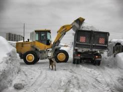 Аренда фронтальный погрузчик уборка снега