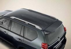 Рейлинги Toyota Land Cruiser Prado 150 черные, серебристые