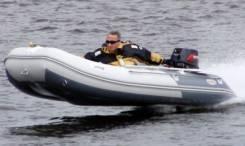 Лодка ПВХ Badger FLA390 с надувным дном 3,9 м.