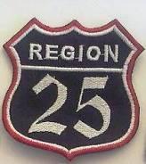 """Нашивка 25 Регион"""""""