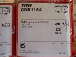 Колодки передние Land Cruiser 80,70 TRW