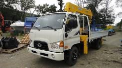 Hyundai HD78. Продам грузовик бортовой с манипулятором Hyundai E-Mighty (HD78) Новый, 3 907куб. см., 4x2