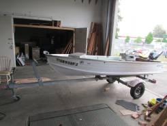 Алюминиевая лодка пр-ва США с трайлером, без пробега по РФ.