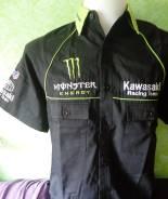Рубашка Kawasaki Monster Energy +отправка по РФ! +