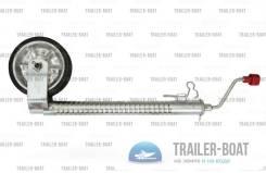 Опорное колесо с защитой от проскальзывания, нагрузка 300 кг (661 lbs)
