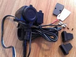 USB зарядка 5V и 12V для любых мотоциклов / Отправлю по РФ