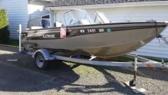 Алюминиевый рыболовный катер 2005 Lowe 165 FS