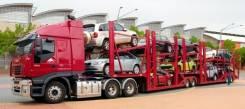 Доставка автовозами, железной дорогой: автомобилей, контейнеров, негаб