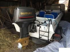 Продам Крым с Suzuki DT65, с прицепом.