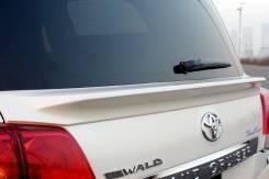 Спойлер WALD, под стекло для Toyota Land Cruiser 200, LC 200