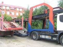 Продаю автовоз scania + eurolohr 2005гв