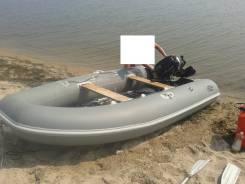"""Лодка """"Фрегат"""" ПВХ 3,30 + мотор Suzuki 15 л. с. 2014 г. в."""