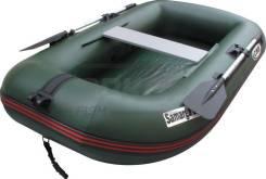 Лодка надувная ПВХ  Samarga E 270 разм 270х136 см 2 места 2 отсека