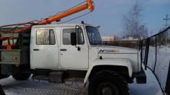 Ямобур на базе ГАЗ 33081