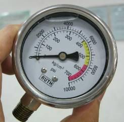 """Манометр 700 кг 10000psi 2.4 """" 60 мм датчик давления в гидросистеме"""