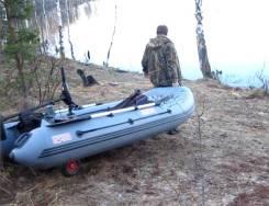 Лодка смарт 310 сколёсами