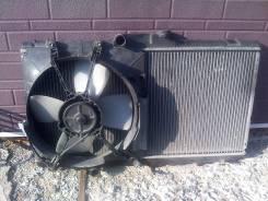 Радиатор охлаждения двигателя. Toyota Corolla Spacio, AE111N 4AFE
