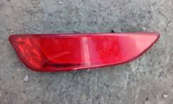 Отражатель бампера заднего левый Hyundai Solaris (RB) хетчбэк