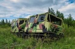 Дизельный-вездеход амфибия Hagglunds BV-206 Лось