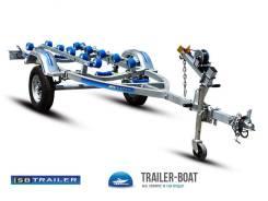 Прицеп для гидроцикла, дюралевых или пластиковых лодок RIB до 4,2м