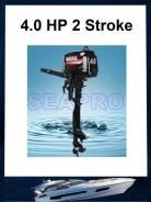 Новый лодочный мотор подвесной Hangkai  4 л. с  2-х тактный