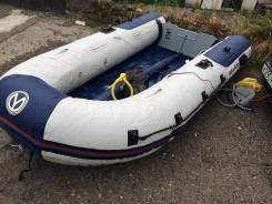 Продам моторно-гребную лодку Yamaran T330 с двигателем Меркурий 3.3